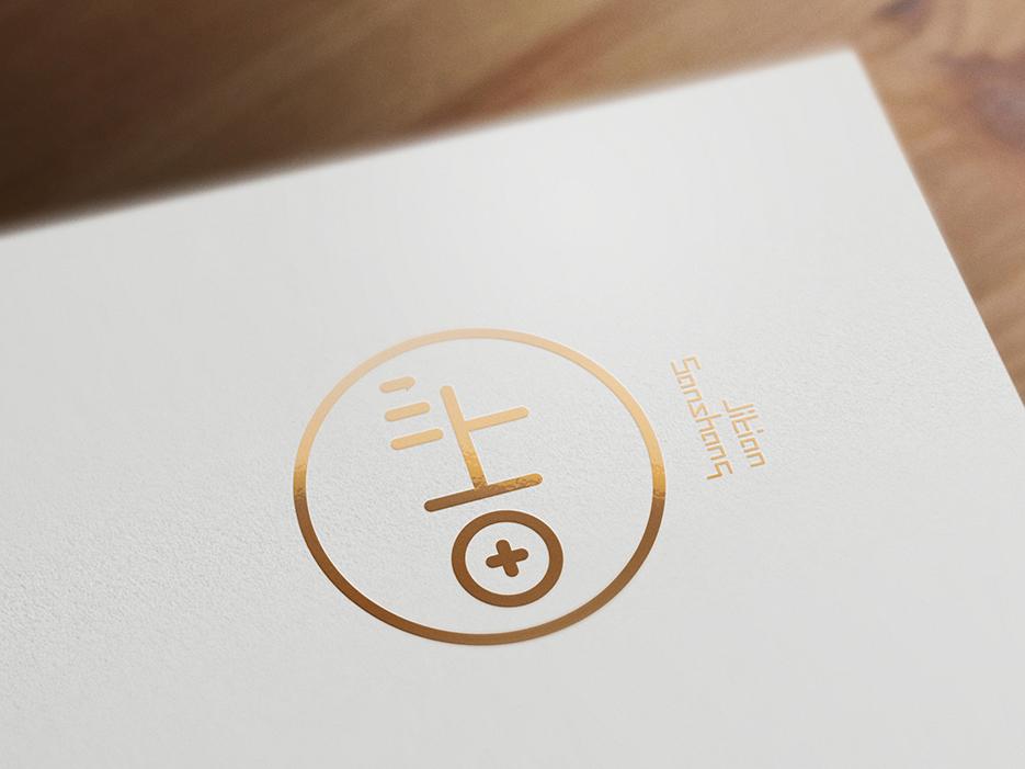 吉田三上烘焙品牌logo设计
